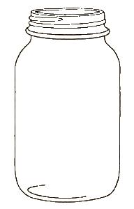 Mason Jar Clipart