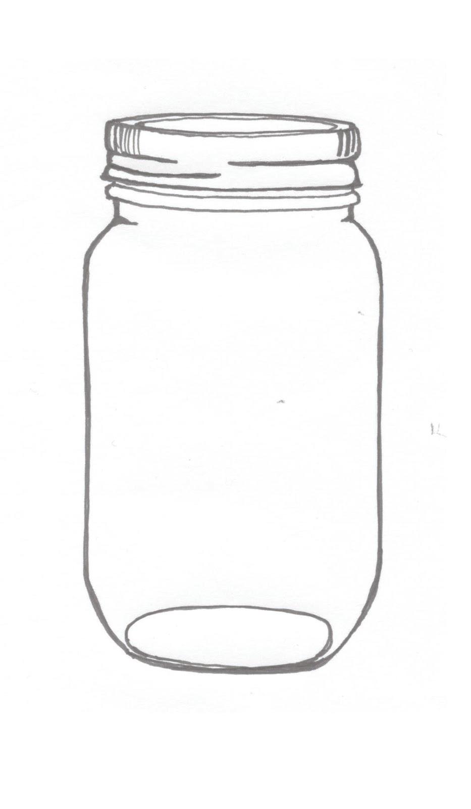 Mason jar on mason jars clip art and free printable