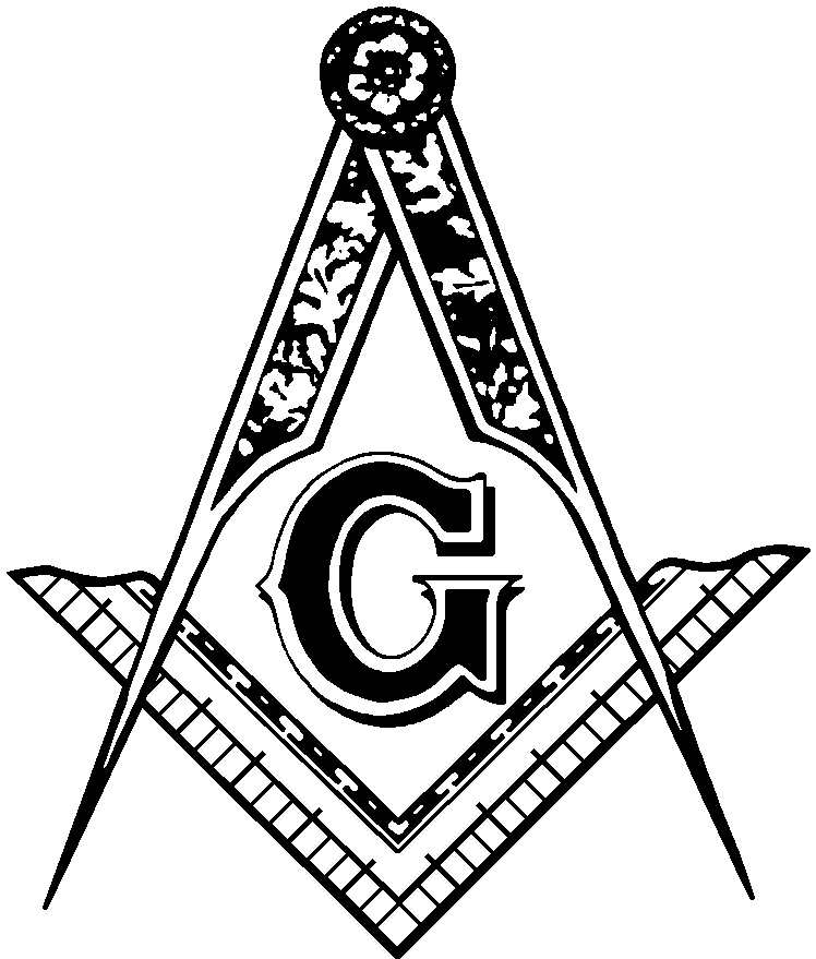 Masonic Clip Art and Freemason Symbols: -Masonic Clip Art and Freemason Symbols: Square u0026amp; Compasses-9
