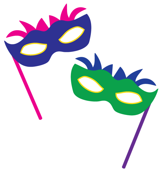 Masquerade Clip Art-Masquerade Clip Art-3