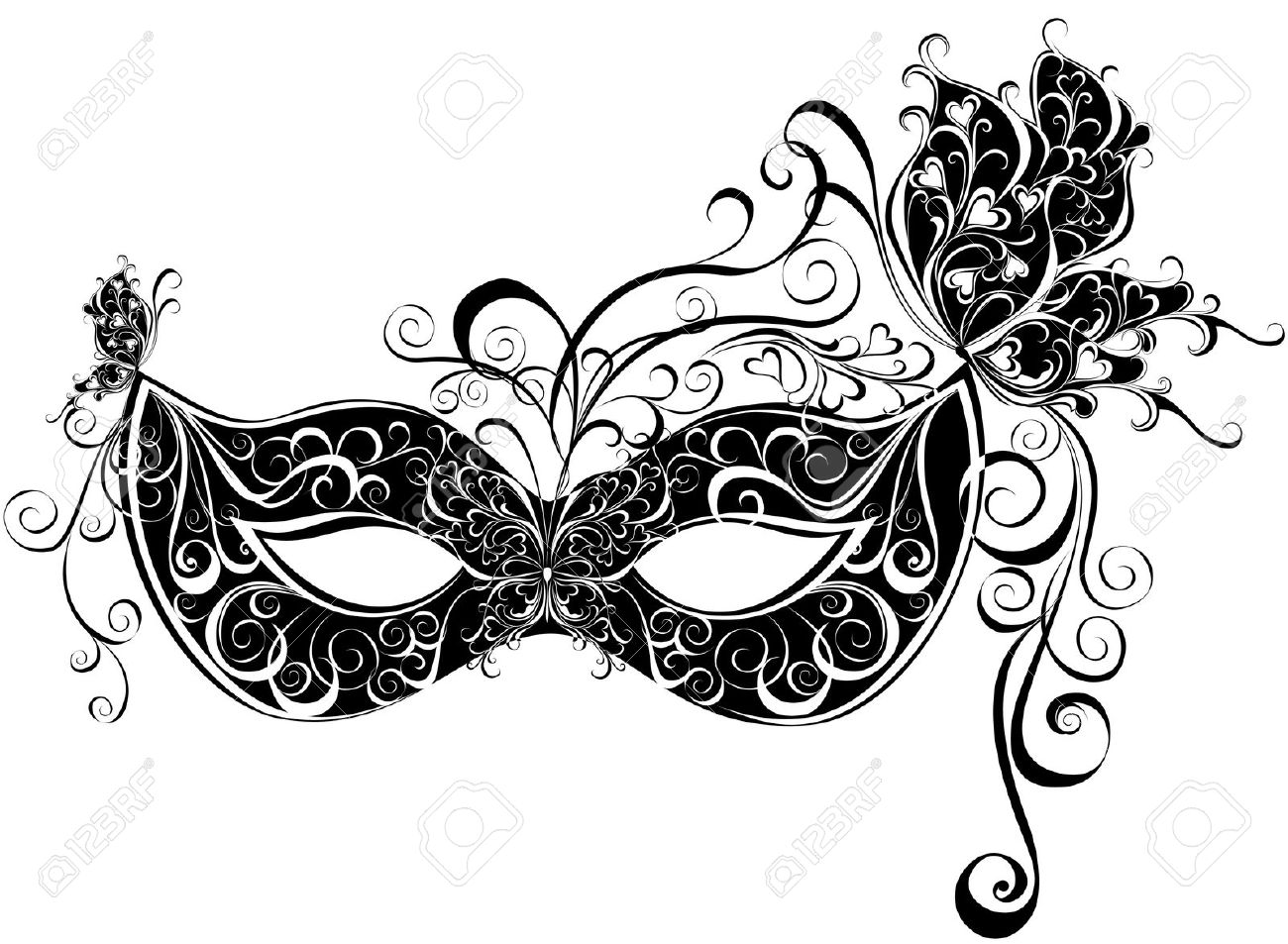Masquerade Mask Clipart Look At Clip Art Images