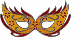 Masquerade Mask Clip Art-Masquerade Mask Clip Art-7