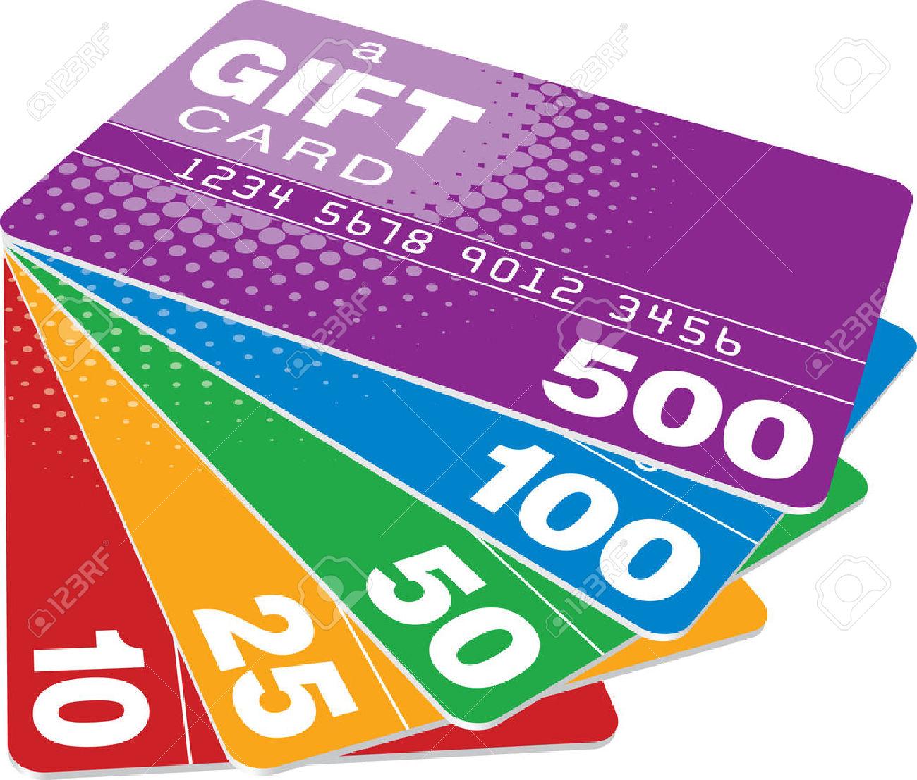 MasterCard Gift Card Clip Art Free