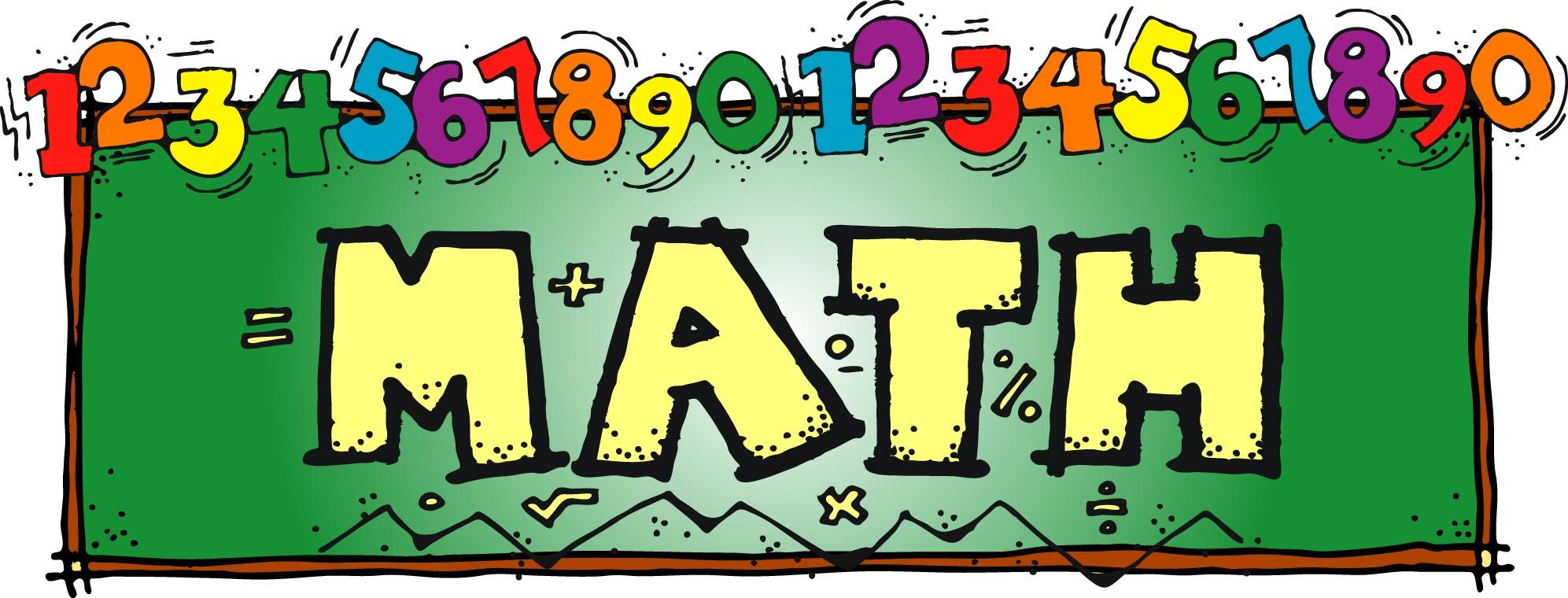 Math Vocabulary Clipart