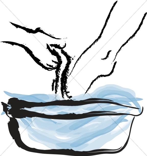 Maundy Thursday Washing Feet-Maundy Thursday Washing Feet-19