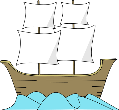 Mayflower Ship Clipart Large Mayflower Ship In