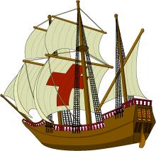 Mayflower | Thanksgiving Clip Art - Chri-Mayflower | Thanksgiving Clip Art - Christart.-14