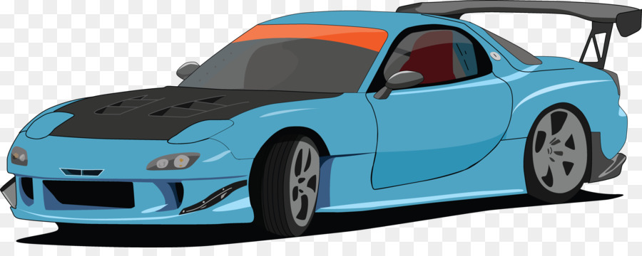 Mazda RX-7 Car Nissan 180SX Chevrolet Volt - drift clipart