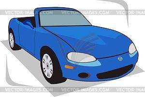 Mazda - vector clipart