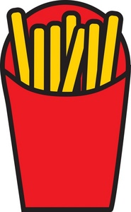 Mcdonalds French Fries Clip Art French Fries L
