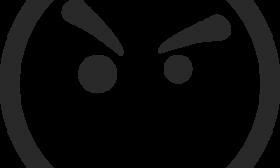 Mean Face Clip Art