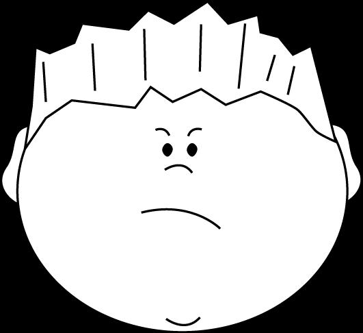 ... Mean Face Clip Art - clipartall ...