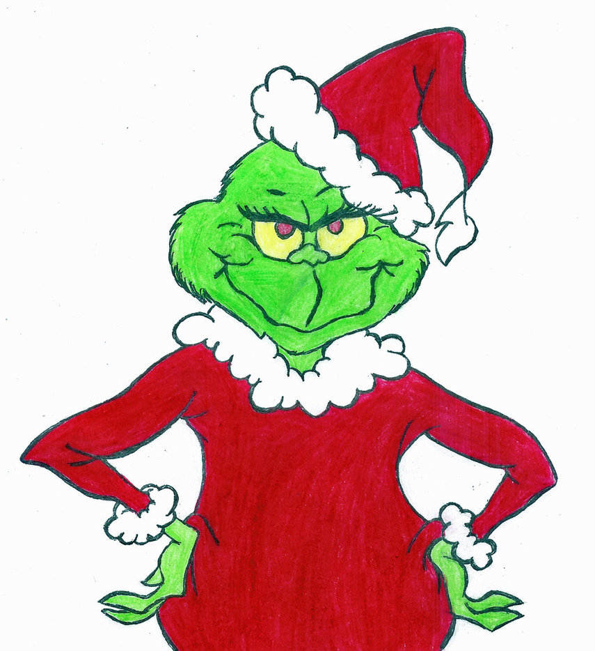 Mean Grinch Clipart - The Grinch Clipart