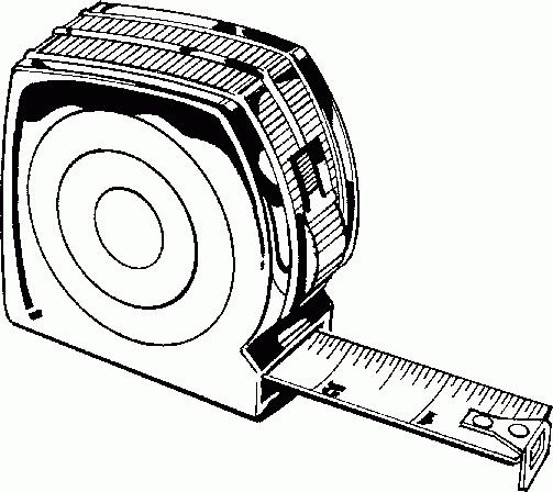 measure clipart