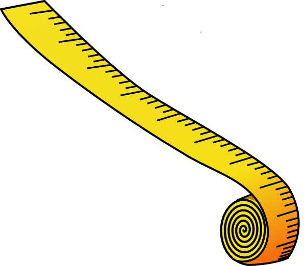 measuring tape clipart black and white-measuring tape clipart black and white-2
