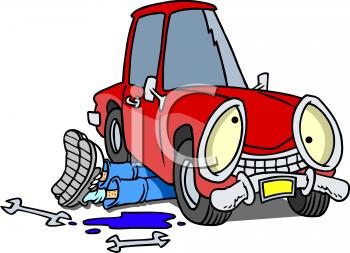 Mechanic Car Repair Clipart #1