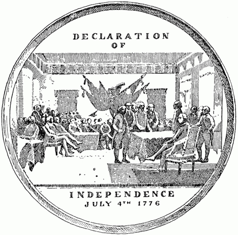 medal commemorating the declaration of independence clipart etc inside declaration of independence clipart declaration of independence