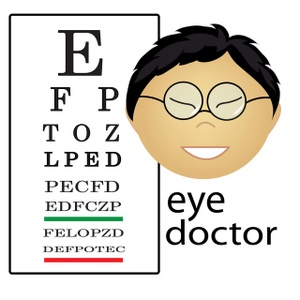 Medical Eye Doctor Clip Art