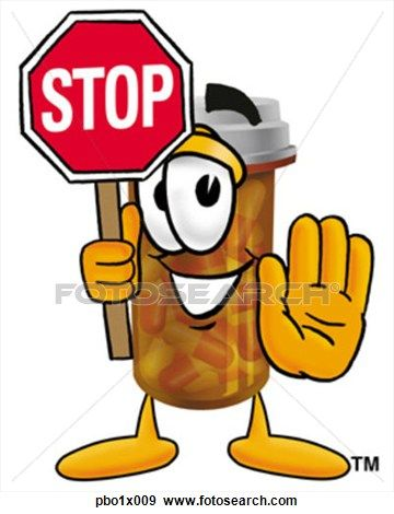 Medicine Bottle Clip Art Free | Clip Art-Medicine Bottle Clip Art Free | Clip Art - pill bottle holding stop sign. Fotosearch-9