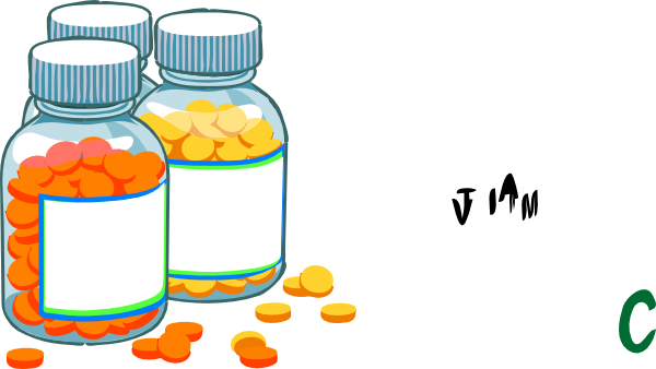 Medicine Bottle Clip Art