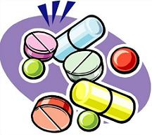Medicine Clip Art · pills and .