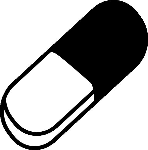 Medicine Pill Clip Art At Clker Com Vector Clip Art Online Royalty