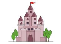 medieval castle clipart. Size: 56 Kb