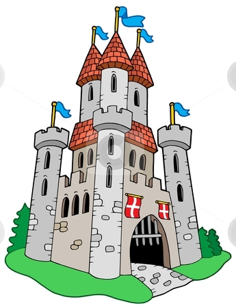 Medieval Castle Stock Vector Clipart Med-Medieval Castle Stock Vector Clipart Medieval Castle Vector-14