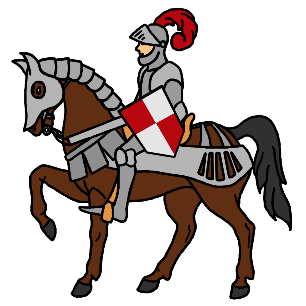 Medieval Knight Clipart Clipart Panda Free Clipart Images