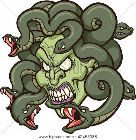 Medusa Clipart #1