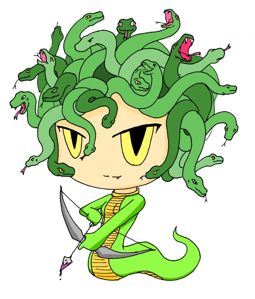 Medusa, the gorgon(Bulletin Project) by SkyArchfiendMayler on .