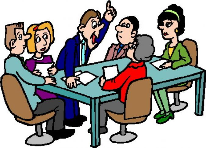meeting clipart - Clip Art Meeting