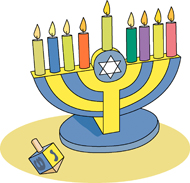 Menorah Border Square Size: 118 Kb From: Hanukkah