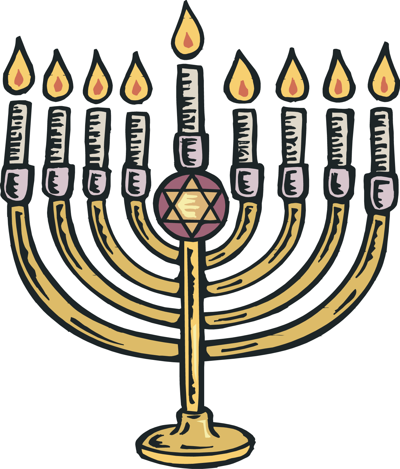 Menorah Image - Clipart library