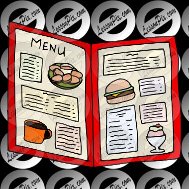menu clipart