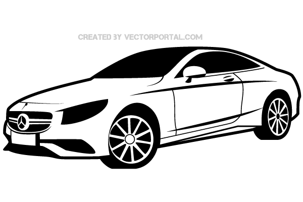 Mercedes Benz Vector Image-Mercedes Benz Vector Image-11