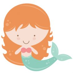 mermaid little clip art .