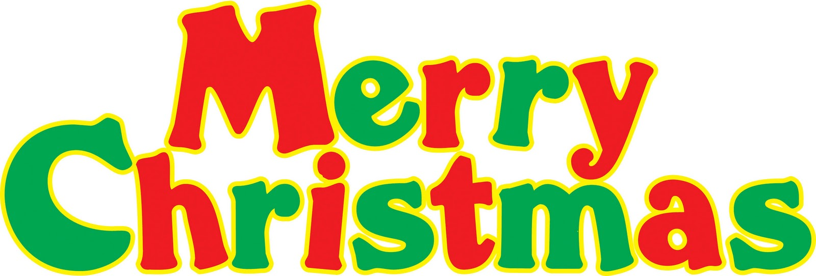 merry christmas banner clipart