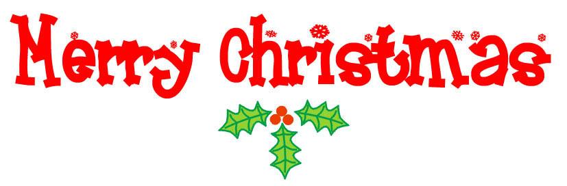 Merry Christmas 2 - Merry Christmas Clipart