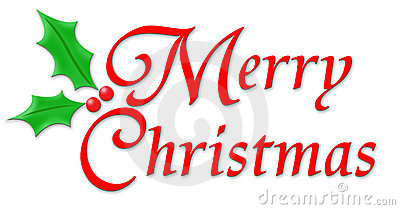 Merry Christmas Banner Clipart .
