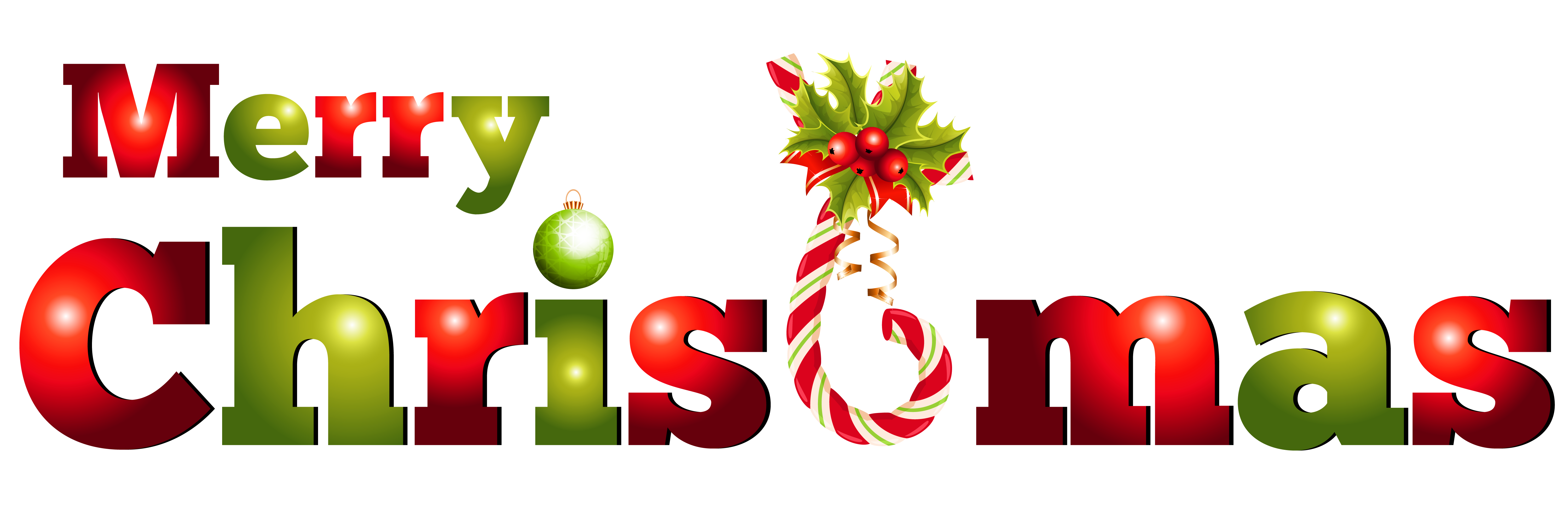 Merry Christmas Clip Art (04) - Merry Christmas Clipart