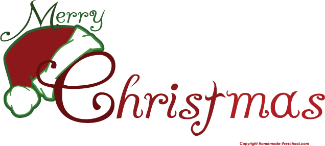 Merry Christmas Clip Art