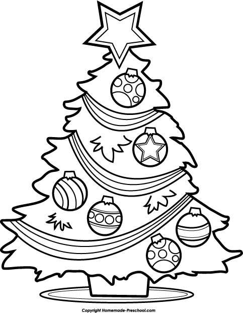 Merry Christmas Clipart Black .-Merry Christmas Clipart Black .-4