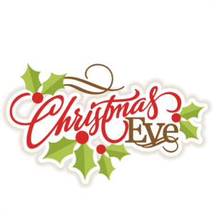 Merry Christmas Eve Clipart. Merry Christmas Eve!