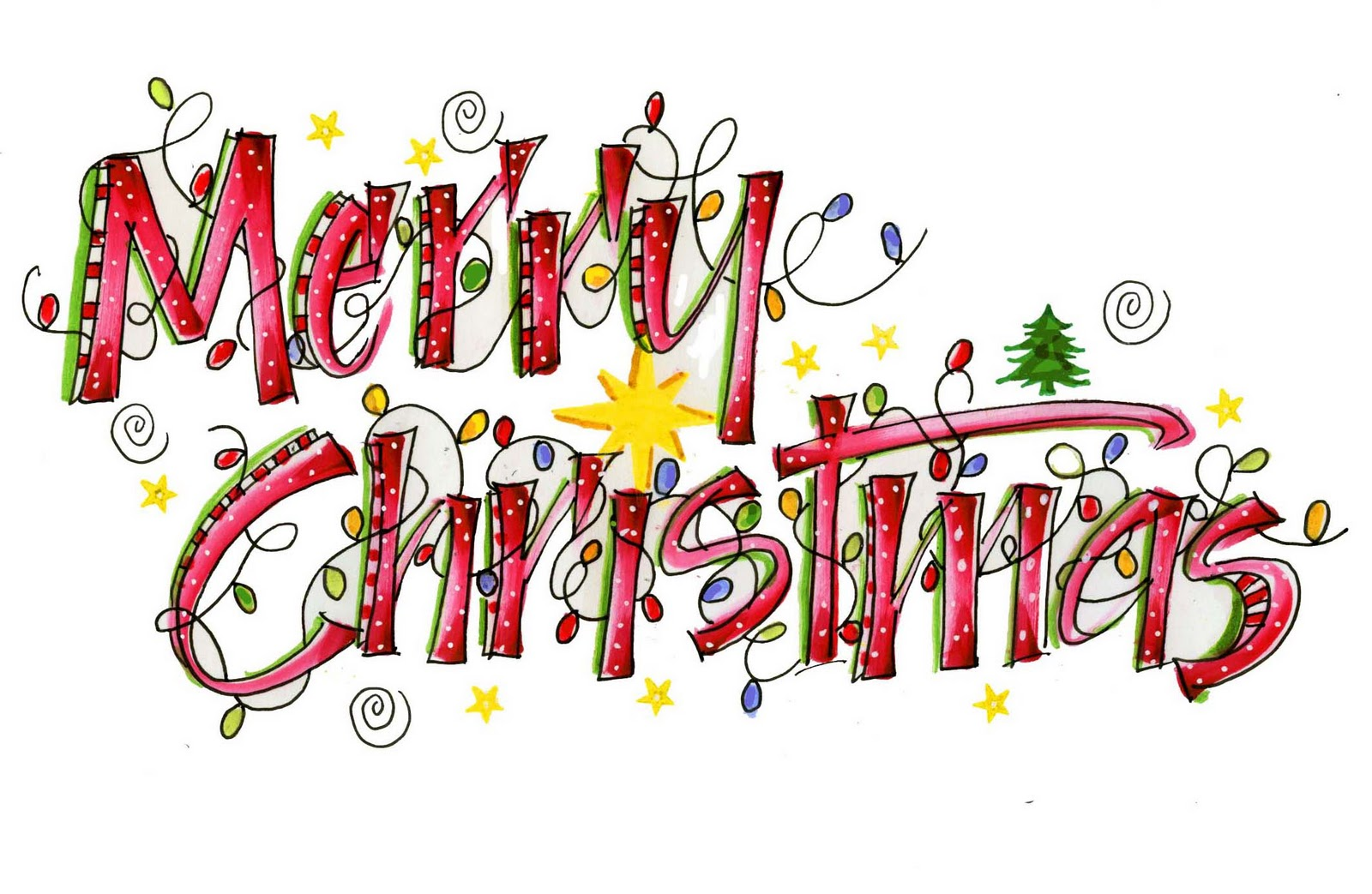 Merry Christmas Everyone Stev - Merry Christmas Clip Art Free