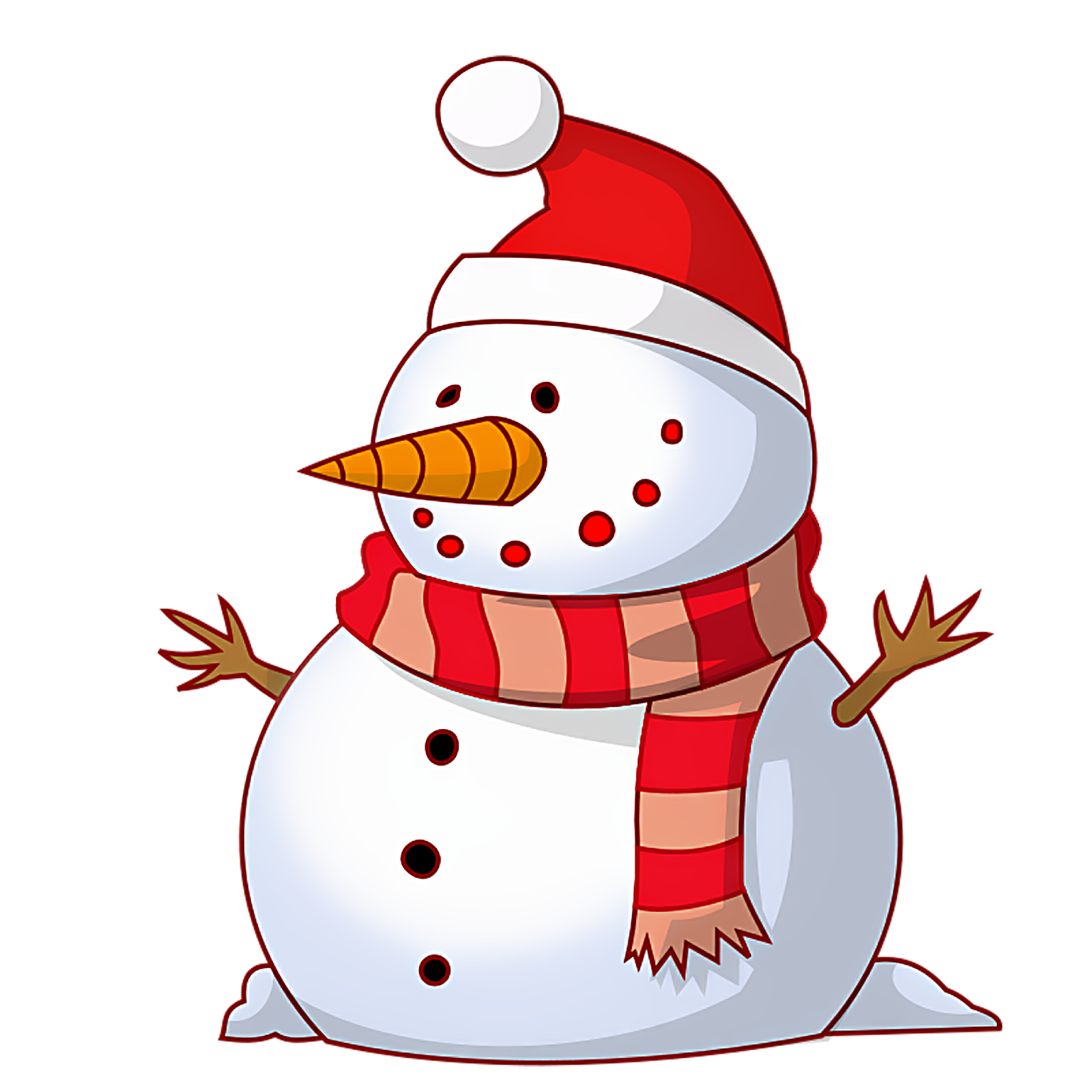 Merry Christmas Snowman Clipart Hd For Wallpapers And Cards Hd In Png