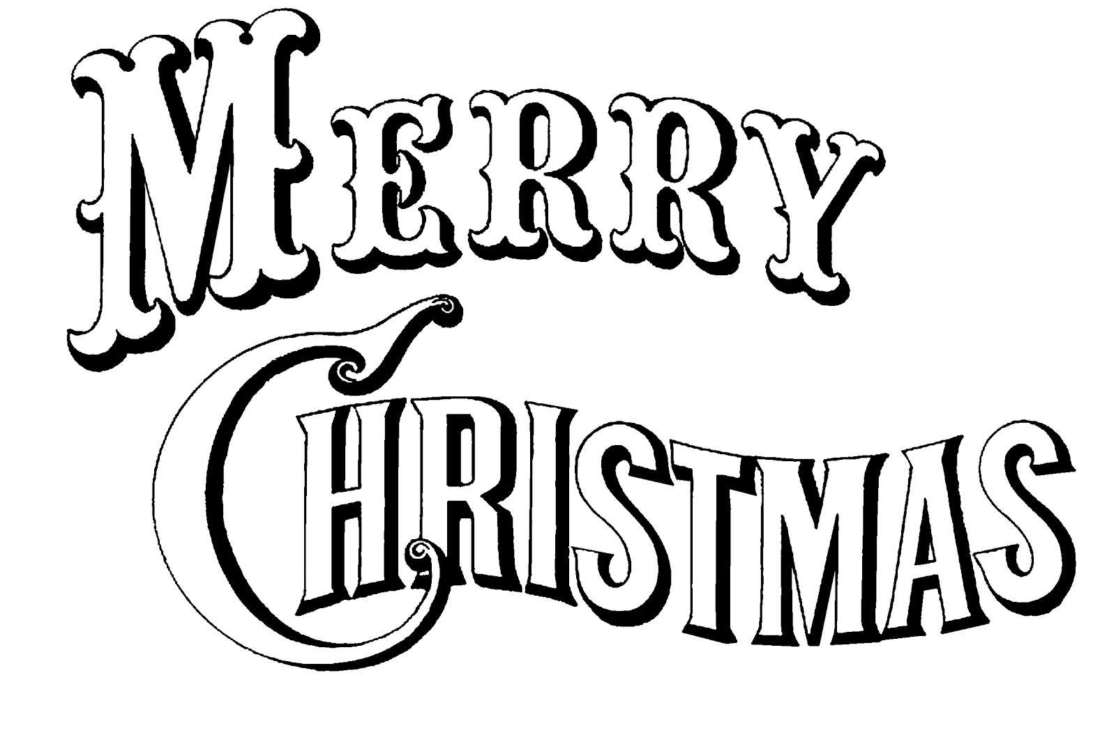 Merry Christmas Text.20 Merry Christmas Text Clipart Clipartlook