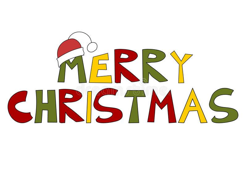 Download Christmas Text: Merry Christmas-Download Christmas Text: Merry Christmas! Stock Vector - Illustration of  season, humor:-2