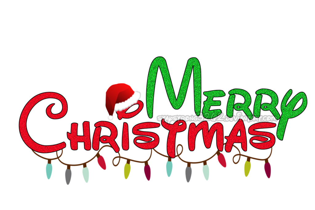 Merry Christmas Texto Png By Staystrong3262 On Deviantart