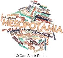 ... Mesopotamia - Abstract word cloud for Mesopotamia with... Mesopotamia Clipartby ...